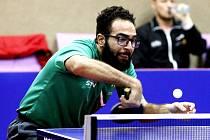Stolní tenista Mohamed Shouman bude hrát za Liberec.