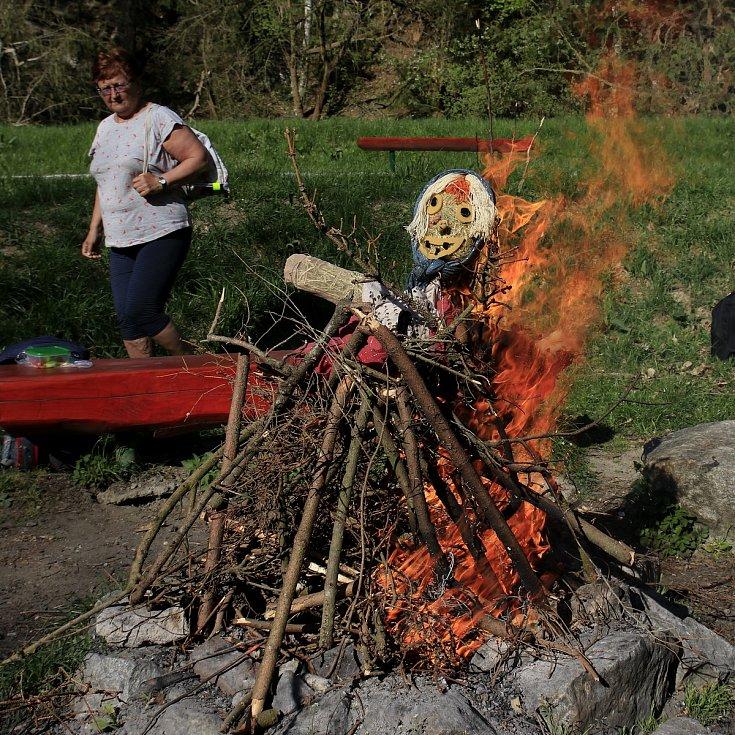 Loňské pálení čarodějnic na Havlíčkobrodsku.