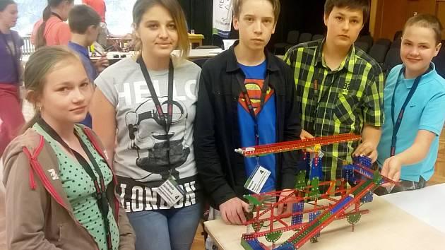 Školáci z Jeníkova byli na soutěži poprvé, přesto zabodovali.