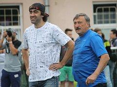 V loňském roce na SENI cupu jako patroni představili Antonín Panenka (vpravo) a Jakub Kohák.