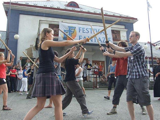 Festival Fantazie v Chotěboři.