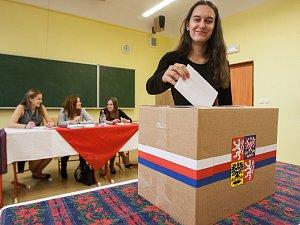 Studentské volby na Havlíčkobrodsku