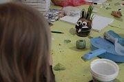 Velikonoční dílna v havlíčkobrodském MaMMacentru