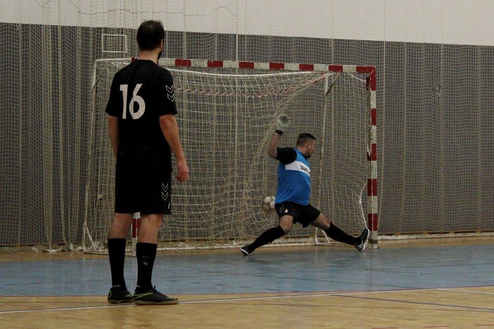 Zápas týmů z Nemocnice Havlíčkův Brod a jihlavské policie