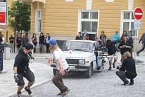 Havlíčkobrodský rodák Roman Kašparovský natáčí právě v těchto dnech v Havlíčkově Brodě svůj první celovečerní film Všiváci.