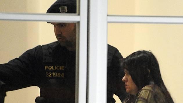 Barbora Orlová, která ve žďárské škole zabila šestnáctiletého studenta.