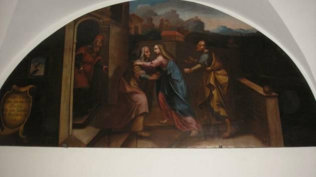 Obrazy z kláštera augustiniánů mají podle restaurátorky Mileny Nečáskové nevyčíslitelnou cenu.