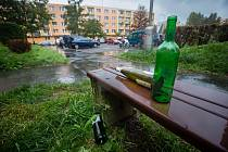 Alkohol na veřejnosti.
