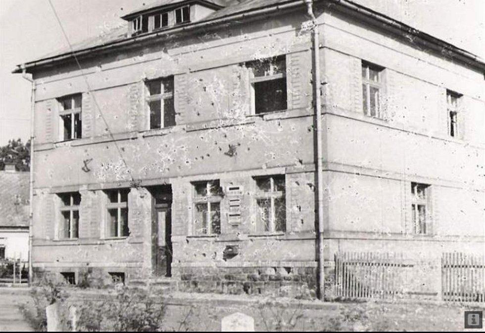 Bombardování Ždírce na konci války