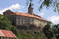 Ledečský hrad. Ilustrační foto.