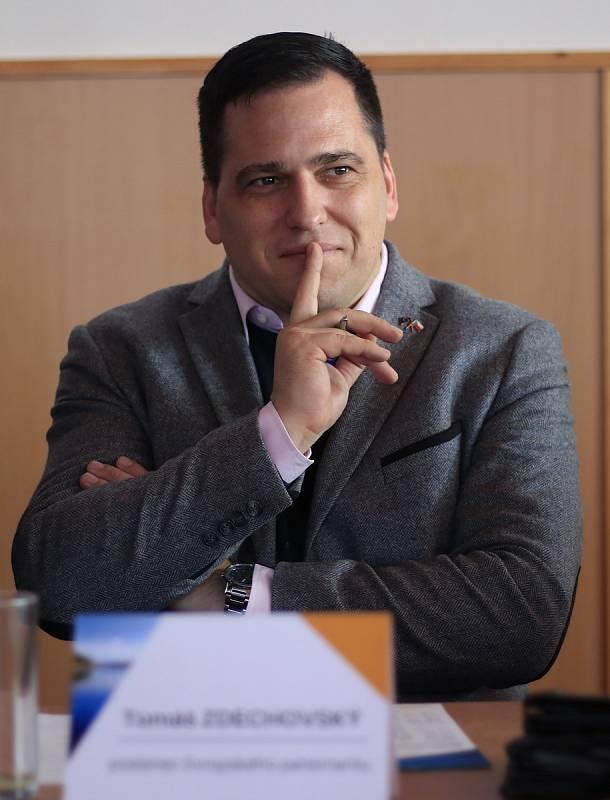 Europoslanec Tomáš Zdechovský.
