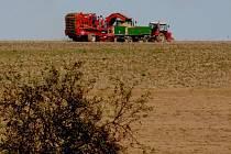 Zemědělci zatím nepřistoupili na Topolánkovy návrhy a svůj pondělní protest neodvolali. Ilustrační foto.