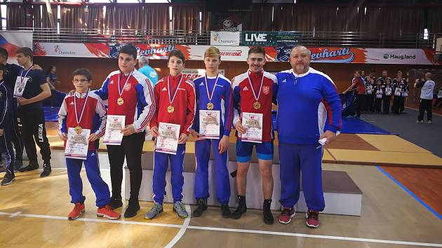 Havlíčkobrodští zápasníci uspěli na republikovém mistrovství.