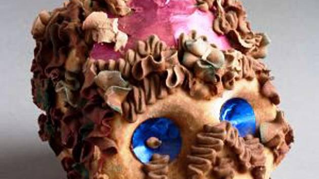 Morbidní cukroví, například lebka z čokolády, nesmí o svátcích v Mexiku chybět.