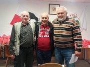 Na snímku zleva Miloslav Adamec, Zdeněk Chalupa a Zdeněk Kubánek.