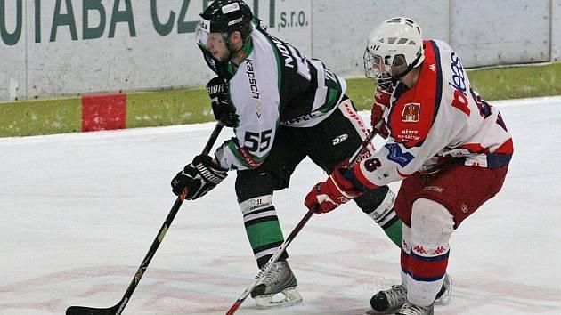 Třetí utkání play off I. ligy Havlíčkův Brod - Mladá Boleslav.