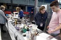 Mezinárodní kuchařská soutěž Trophée Mille International v Remeši.