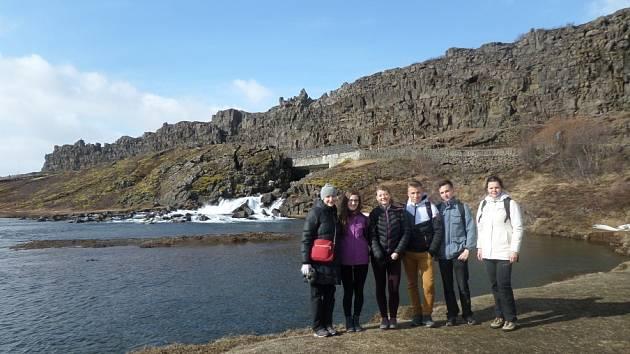 Studenti na Islandu.
