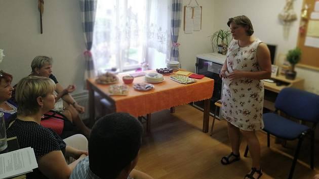 Oslavy 25. výročí Charitního domova pro matky s dětmi v Havlíčkově Brodě.