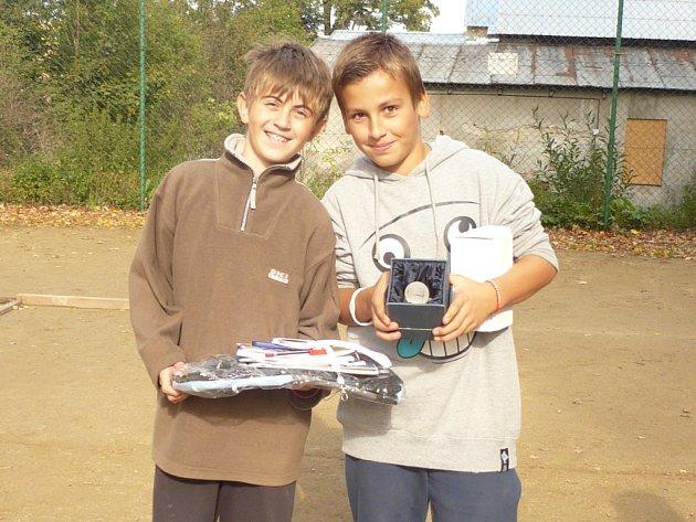 Vítězi se stali Marek Toman a Filip Nádvorník, kteří celé klání v parku vyhráli.