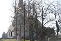 Kostel v České Bělé.