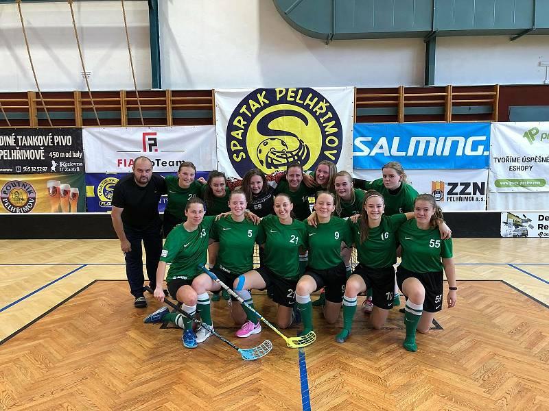 Florbalový tým ze Světlé nad Sázavou.