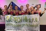 Děvčata z BM Fitness Havlíčkův Brod na Mistrovství světa ve sportovním a fitness aerobiku.