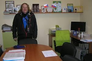 Starosta Ondřej Čapek vede Vísku už patnáct let.