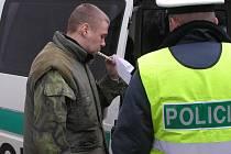 Vzorný řidič motocyklu zastavený v Chotěboři. Kontrola na alkohol byla negativní a na rozdíl od několika automobilistů zastavených v ten samý den měl u sebe doklady.