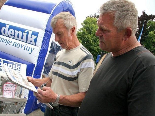 Den s Deníkem se konal v Golčově Jeníkově.