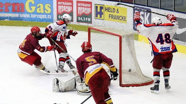 Čtyři body si připsali do tabulky starší dorostenci HC Rebel. Podle trenérů potvrdili, co je hokejové srdíčko.
