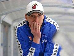 Rozčarovaný z výkonu svých svěřenců byl po zápase s Moravskou Třebovou světelský trenér Jan Krajíček (na snímku). Vadila mu především zbrklost v koncovce.