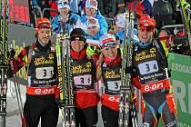 V roce 2013 na MS v biatlonu v Novémě Městě na Moravě vybojovala smíšená štafeta bronz. Stejný závod bude na programu SP ve Vysočina Areně i za měsíc.