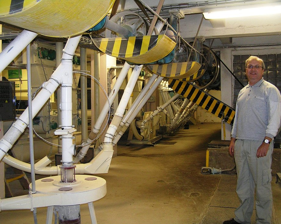 Práce mlynáře je podle Romana Valenty náročná a neustále je co zlepšovat. Mlýn v Havlíčkově Brodě ale nežije jen z tradice.