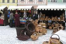 Zklamáni byli zájmem o vánoční trhy košíkáři ze Slavonic.