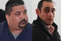 Roman Patkaň (vlevo) a Miroslav Bačo čekali, že dostanou mírnější tresty. Nyní zvažují odvolání.