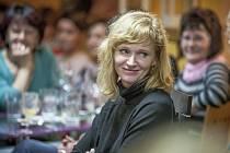 Herečka Aňa Geislerová vyprávěla nejenom o svých filmech, ale například i o knize s názvem P.S., kde vtipně a svěže popsala zážitky ze soukromého života.
