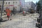 Rekonstrukce Dolní ulice dělá živnostníkům vrásky na čele.