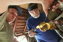Tasice na Havlíčkobrodsku zažijí víkend plný sklářského umění. Ilustrační snímek.