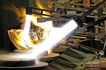 Na to, jak se v současné době vyrábí sklo ve Světlé nad Sázavou, se budou moci lidé podívat v pátek 28. i v sobotu 29. září, a to vždy od 9 do 16 hodin.