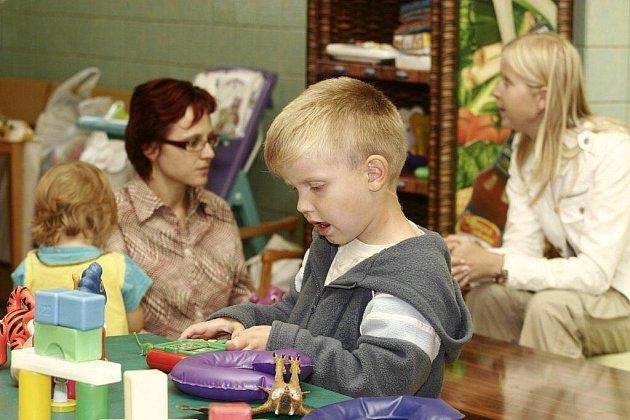 Zázemí pro sebe i své děti maminky najdou kousek od centra, v bývalé ZŠ Rubešova.