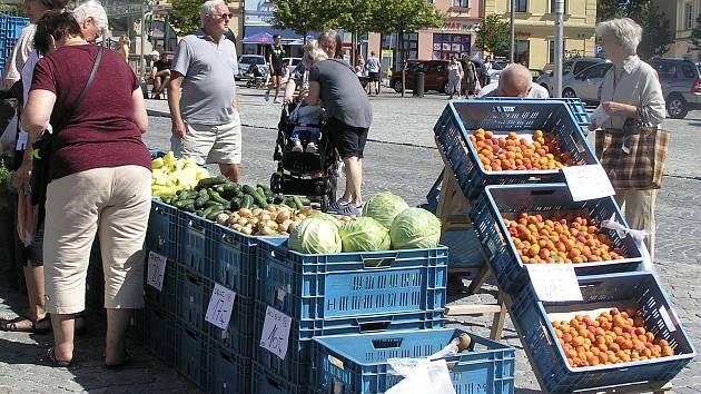 Farmářské trhy.
