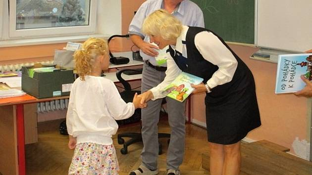 Zahájení školního roku na Základní škole Krucemburk.