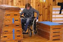 Pocity vozíčkáře si vyzkoušel například Šimon Sedlák z Havlíčkovy Borové.