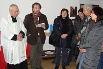 Vernisáž výstavy k uctění památky kněze Josefa Toufara