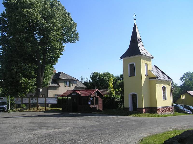 Obec Knyk dnes.