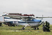 Na Havlíčkobrodském letišti se ve středu v dopoledních hodinách konalo cvičení postupů záchranných akcí po pádu dopravního letadla.