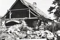 Nesmyslné bombardování ke konci války zastavilo vývoj Ždírce na desítky let.