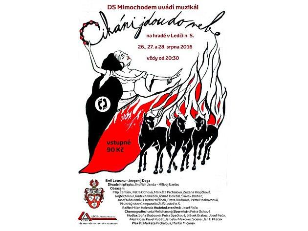 Divadelníci z Mimochodem představí muzikál Cikáni jdou do nebe.