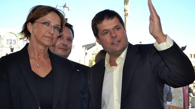 Anna Hanáková, Martin Sedlák, Libor Honzárek.
